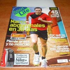 Coleccionismo de Revistas y Periódicos: SPORT LIFE ABRIL 2008 ANDRES INIESTA . Lote 23231914