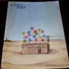 Coleccionismo de Revistas y Periódicos: REVISTA CAVALL FORT - Nº 46 - AGOSTO 1980. Lote 27108435