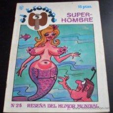Coleccionismo de Revistas y Periódicos: REVISTA DE HUMOR EL TROMPA - Nº 25 - AÑO 1976. Lote 20910542