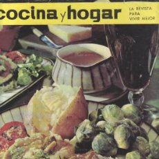 Coleccionismo de Revistas y Periódicos: COCINA Y HOGAR 1964 Nº18- MAS REVISTAS Y COLECCIONISMO EN GENERAL EN RASTRILLOPORTOBELLO. Lote 26206657