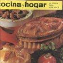 Coleccionismo de Revistas y Periódicos: COCINA Y HOGAR 1964 Nº19- MAS REVISTAS Y COLECCIONISMO EN GENERAL EN RASTRILLOPORTOBELLO. Lote 25961778