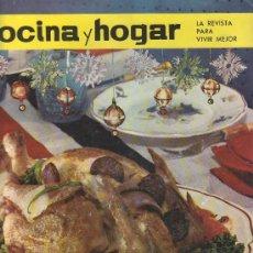 Coleccionismo de Revistas y Periódicos: LA REVISTA PARA VIVIR MEJOR.COCINA Y HOGAR 1964 Nº20- EXTRAORDINARIO DE NAVIDAD.. Lote 27370917