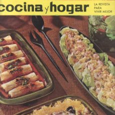 Coleccionismo de Revistas y Periódicos: LA REVISTA PARA VIVIR MEJOR.COCINA Y HOGAR 1965 Nº21- RASTRILLOPORTOBELLO PARA COLECCIONISTAS. Lote 26972756
