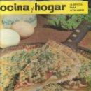 Coleccionismo de Revistas y Periódicos: LA REVISTA PARA VIVIR MEJOR.COCINA Y HOGAR JUNIO 1966 Nº38- RASTRILLOPORTOBELLO PARA COLECCIONISTAS. Lote 26876953