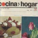 Coleccionismo de Revistas y Periódicos: COCINA Y HOGAR 1967 Nº49- MAS COLECCIONSIMO EN GENERAL EN RASTRILLOPORTOBELLO. Lote 26268711