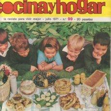 Coleccionismo de Revistas y Periódicos: REVISTA DE COCINA Y HOGAR 1971 Nº99- MAS COLECCIONSIMO EN GENERAL EN RASTRILLOPORTOBELLO. Lote 21001896