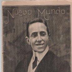 Coleccionismo de Revistas y Periódicos: NUEVO MUNDO Nº 620. NOVIEMBRE DE 1905.. Lote 21055523