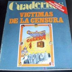 Coleccionismo de Revistas y Periódicos: REVISTA CUADERNOS PARA EL DIALOGO - 28 AGOSTO 1976 - VICTIMAS DE LA CENSURA - SORIA. Lote 27481980