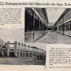 Coleccionismo de Revistas y Periódicos: MADRID 1919 MERCADO SAN ANTONIO RETAL REVISTA. Lote 24105848