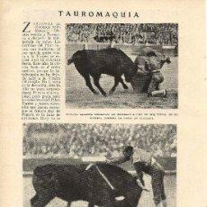 Coleccionismo de Revistas y Periódicos - * TOROS * Marcial Lalanda, Nicanor Villalta, Vicente Barrera, cogida de Fortuna Chico - 1931 - 21193470