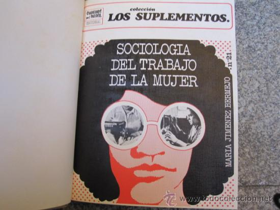 Coleccionismo de Revistas y Periódicos: CUADERNOS PARA EL DIALOGO - Colección Los Suplementos - Nº 21 AL30 INC 1971 PERFECTOS + INFO. - Foto 2 - 21315272