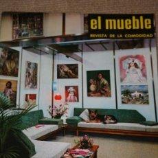 Coleccionismo de Revistas y Periódicos: REVISTA EL MUEBLE. REVISTA DE LA COMODIDAD. NÚMERO 5, AÑO 1961. . Lote 24240436
