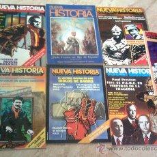 Coleccionismo de Revistas y Periódicos: LOTE 7 REVISTAS NEVA HISTORIA AÑOS 70. Lote 26892769