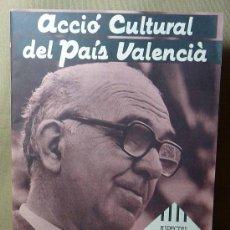 Coleccionismo de Revistas y Periódicos: REVISTA, ACCIO CULTURAL DEL PAIS VALENCIA, 1982, Nº 12/13, MANUEL SANCHIS GUARNER, NORMES DE CASTELL. Lote 21391963