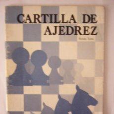 Coleccionismo de Revistas y Periódicos: CARTILLA DE AJEDREZ. ROMÁN TORÁN. 42 PP. 1984. ILUSTRADA.. Lote 21428904