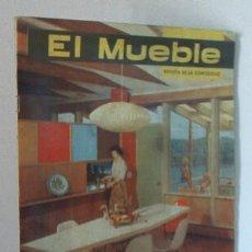 Coleccionismo de Revistas y Periódicos: REVISTA EL MUEBLE - JUNIO 1963 - VINTAGE. Lote 27466752