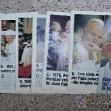Coleccionismo de Revistas y Periódicos: JUAN PABLO II - COLECCIONABLE.. Lote 26197789