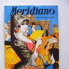 Coleccionismo de Revistas y Periódicos: MERIDIANO FEMENINO, NOVIEMBRE 1954. Lote 21496769