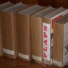 Coleccionismo de Revistas y Periódicos: LOTE DE REVISTAS DE AERONÁUTICA FLAPS ENCUADERNADAS EN 6 TOMOS DE LOS AÑOS 1960 A 1974. Lote 26528832