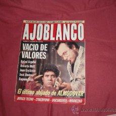 Coleccionismo de Revistas y Periódicos: AJOBLANCO NUMERO 44 1992 SEP EL ULTIMO AHIJADO DE ALMODOVAR. Lote 21675941