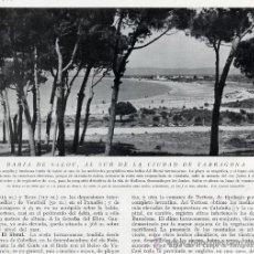 Coleccionismo de Revistas y Periódicos: SALOU 1930 TARRAGONA RETAL REVISTA. Lote 21831377