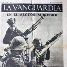 Coleccionismo de Revistas y Periódicos: LA VANGUARDIA NOTAS GRAFICAS 1937 GUERRA CIVIL BARCELONA-FRENTE DE ARAGON-VALENCIA VER FOTOS. Lote 21931066