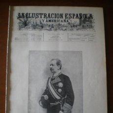 Coleccionismo de Revistas y Periódicos: ILUSTRACION ESPAÑOLA/AMERICANA (22/01/1899) BURGOS BOGARAYA MOSQUETERO CASALS WALKYRIA MATEMATICAS . Lote 25417931
