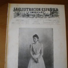 Coleccionismo de Revistas y Periódicos: ILUSTRACION ESPAÑOLA/AMERICANA (15/04/99) ROMA EMBAJADA ARQUEOLOGIA MELLIDA NAUFRAGIO STELLA. Lote 25798321