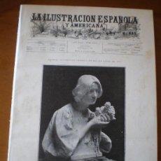 Coleccionismo de Revistas y Periódicos: ILUSTRACION ESPAÑOLA/AMERICANA (30/06/99) GRANADA ALMADRAZA VALLADOLID PRADELL PARIS BLAY. Lote 34810350