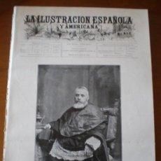 Coleccionismo de Revistas y Periódicos: ILUSTRACION ESPAÑOLA/AMERICANA (15/07/99) DREYFUS POLO NORTE ABRUZZOS DESCELLES VIVES Y TUTO . Lote 43471514