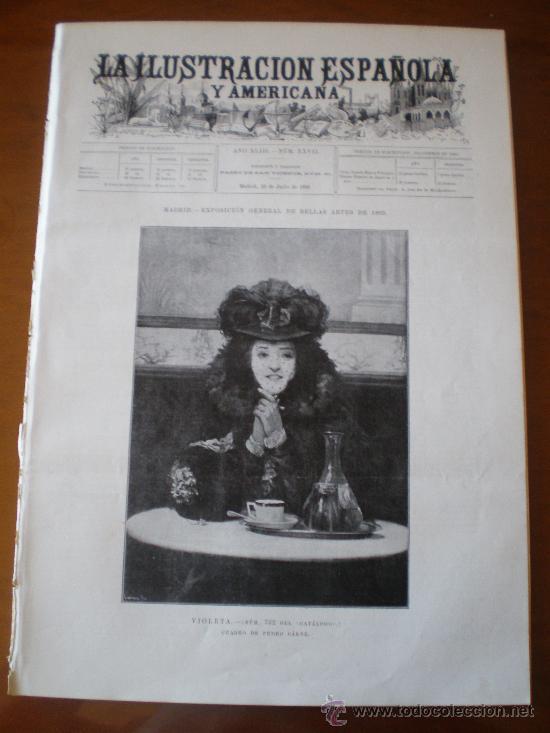 ILUSTRACION ESPAÑOLA/AMERICANA (22/07/99) GIRONELLA ASTRONOMIA ITALIA VENECIA ROMA OBSERVATORIO (Coleccionismo - Revistas y Periódicos Antiguos (hasta 1.939))