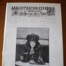 Coleccionismo de Revistas y Periódicos: ILUSTRACION ESPAÑOLA/AMERICANA (22/07/99) GIRONELLA ASTRONOMIA ITALIA VENECIA ROMA OBSERVATORIO . Lote 22108635
