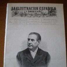Coleccionismo de Revistas y Periódicos: ILUSTRACION ESPAÑOLA/AMERICANA (15/08/99) GIJON ASTURIAS INGENIEROS MILITAR SANTANDER SANTIAGO. Lote 22109605