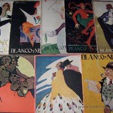 Coleccionismo de Revistas y Periódicos: LOTE DE REVISTAS NUEVO MUNDO,BLANCO Y NEGRO Y MUNDO GRÁFICO. Lote 27472267