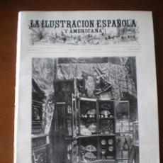Coleccionismo de Revistas y Periódicos: ILUSTRACION ESPAÑOLA/AMERICANA (22/08/99) CAUDILLA SAN SEBASTIAN MEXICO DREYFUS TREN NAVARRETE. Lote 22143410