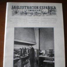 Coleccionismo de Revistas y Periódicos: ILUSTRACION ESPAÑOLA/AMERICANA (15/09/99) GUADALAJARA PIOZ PASTEUR HAES LEQUEITO CERILLAS . Lote 34813852