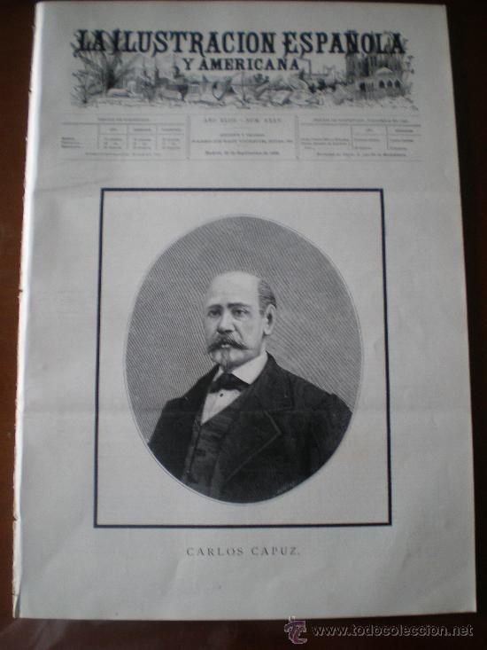 ILUSTRACION ESPAÑOLA/AMERICANA (22/09/99) CAPUZ BUONAROTTI DREYFUS PROCESION RONDA LEZO GUIPUZCOA (Coleccionismo - Revistas y Periódicos Antiguos (hasta 1.939))