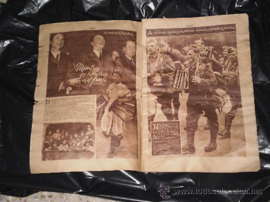 Coleccionismo de Revistas y Periódicos: SEMANARIO GRAFICO NACIONAL SINDICALISTA - FOTOS - NUMERO 139 , 28 DE OCTUBRE 1939 - Foto 2 - 27536658