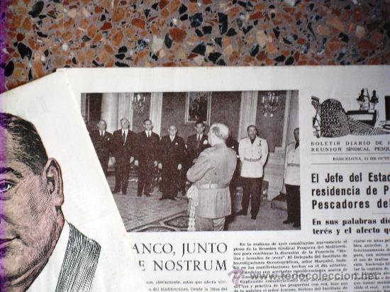 Coleccionismo de Revistas y Periódicos: TRES NÚMEROS DE PESCA BOLETÍN DIARIO DE INFORMACIÓN DE LA REUNIÓN SINDICAL PESQUERA BARCELONA 1955 - Foto 6 - 26777443