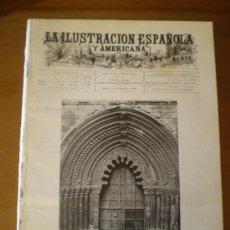 Coleccionismo de Revistas y Periódicos: ILUSTRACION ESPAÑOLA/AMERICANA (15/12/99) AVILA SANGUESA ORENSE SEPULVEDA POSQUERAS PORTACOELI . Lote 53092264