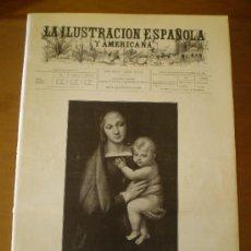 Coleccionismo de Revistas y Periódicos: ILUSTRACION ESPAÑOLA/AMERICANA (22/12/99) NAVIDAD RIBERA MURILLO MAGIA TABACO LOPEZ MEZQUITA . Lote 42927769