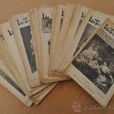 Coleccionismo de Revistas y Periódicos: GRAN LOTE DE REVISTAS: LO TEATRO REGIONAL. DE 1899 Y 1900.. Lote 26058802