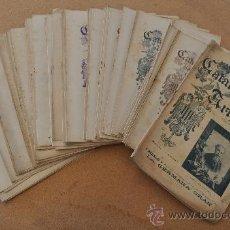Coleccionismo de Revistas y Periódicos: GRAN LOTE DE 72 REVISTAS: LA CATALUNYA ARTISTICA, EN CATALÀ. RARAS. DE 1900 A 1902.. Lote 46475523