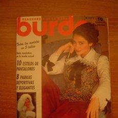 Coleccionismo de Revistas y Periódicos: REVISTA BURDA 10- OCTUBRE 93 CONTIENE PATRONES. Lote 22344473