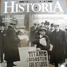 Coleccionismo de Revistas y Periódicos: LA AVENTURA DE LA HISTORIA, Nº 18, ABRIL 2000: EL SIGLO DE LA PRENSA, CASANOVA EN ESPAÑA, LA GUERRA.. Lote 22376763