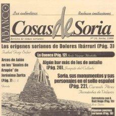 Coleccionismo de Revistas y Periódicos: ABANCO/COSAS DE SORIA Nº 36. Lote 22426597