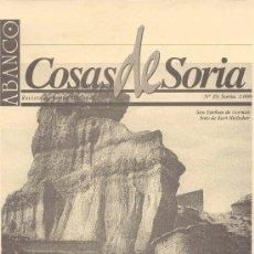 Coleccionismo de Revistas y Periódicos: ABANCO/COSAS DE SORIA Nº39. Lote 22426734