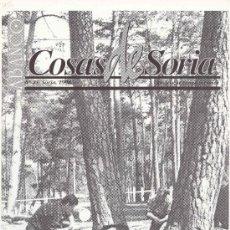 Coleccionismo de Revistas y Periódicos: ABANCO / COSAS DE SORIA Nº21. Lote 58081749