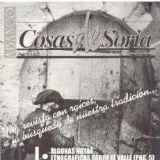 Coleccionismo de Revistas y Periódicos: ABANCO /COSAS DE SORIA Nº 22. Lote 22426800