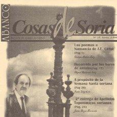 Coleccionismo de Revistas y Periódicos: ABANCO /COSAS DE SORIA Nº35. Lote 22427109